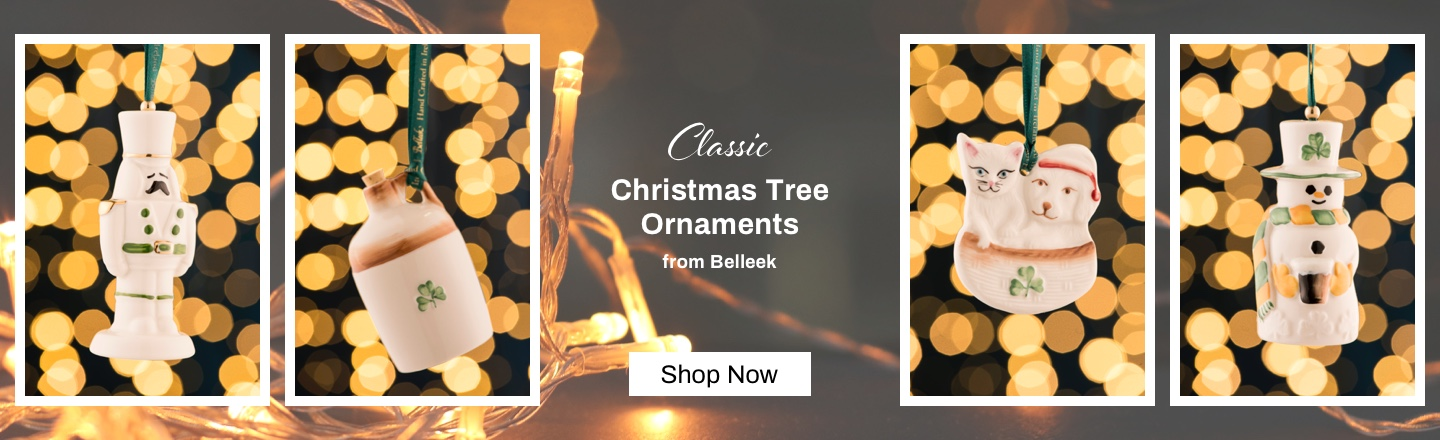 Belleek Christmas Ornaments