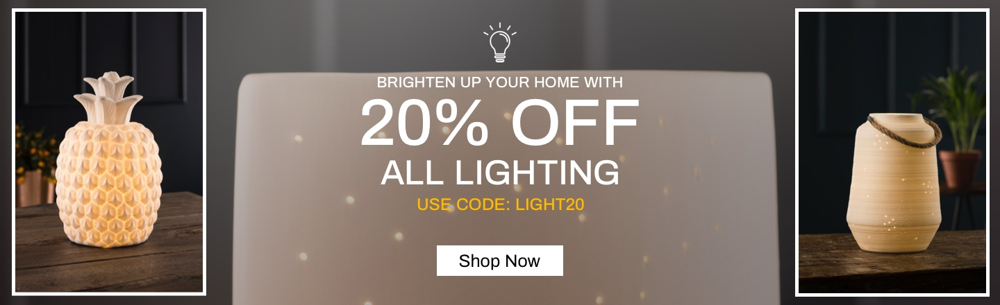 20% OFF Lighting