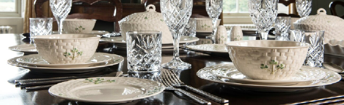 Shamrock Tableware Collection