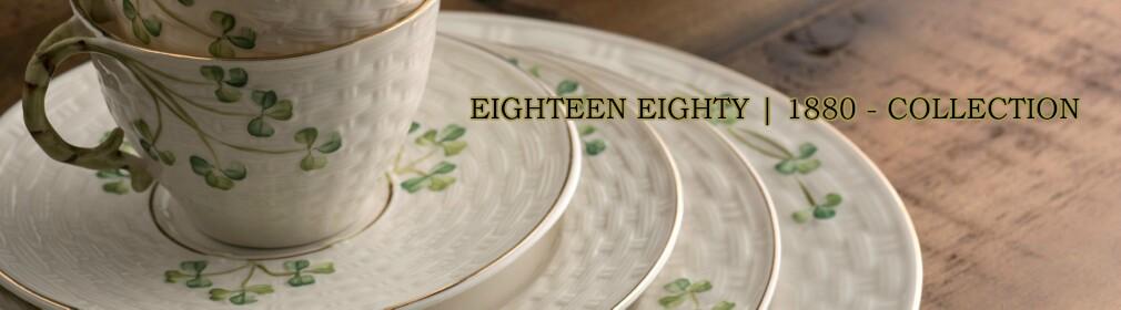 1880 - Gold Shamrock Tableware