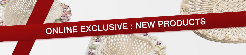 Belleek Exclusive Online Baskets