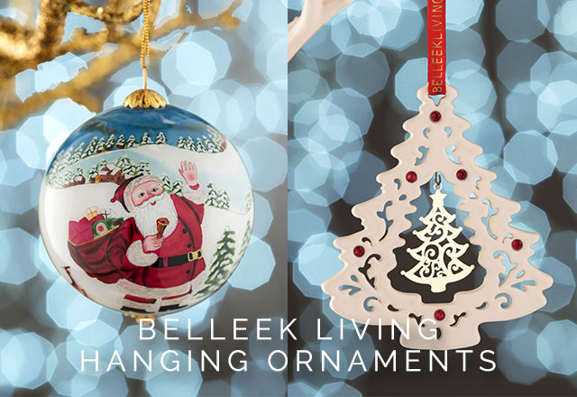 Belleek Living Tree Ornaments