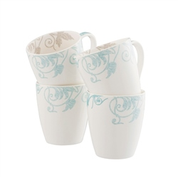 Belleek Living Novello Mugs Set