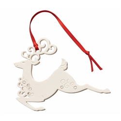 Belleek Living Reindeer Ornament