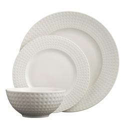 Grafton 12 Piece Dinnerware Set