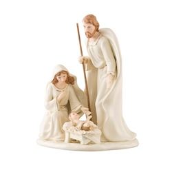 Belleek Living Nativity Family - Large