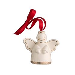 Belleek Living Mini Angel Ornament
