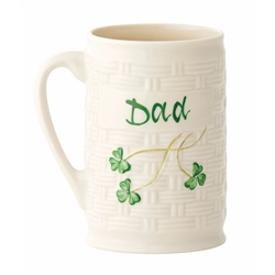 "Belleek Classic ""Dad"" Mug"