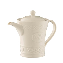 Belleek Classic Claddagh Beverage Pot