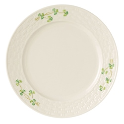 Belleek Classic Shamrock Dinner Plate