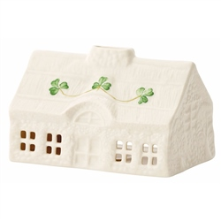 Belleek Classic Thatched Cottage Votive