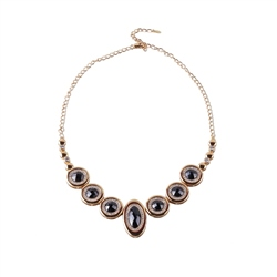 Designer Jewellery Onyx Diamond Necklace