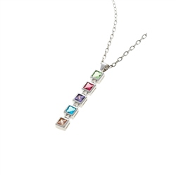 Designer Jewellery Rainbow Drop Necklace