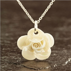 Designer Jewellery Wild Rose Necklace