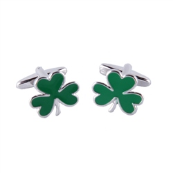 Designer Jewellery Lucky Shamrock Cufflinks