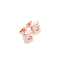 Designer Jewellery Aurous Rose Earrings