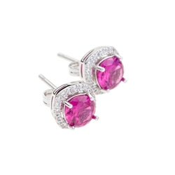 Designer Jewellery Ruby Earrings