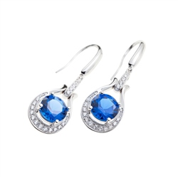Designer Jewellery Topaz Blue Earrings