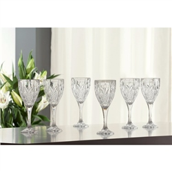 Galway Crystal ABBEY GOBLET SET