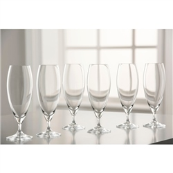 Galway Living Clarity Beer/ Ice Tea Set of 6
