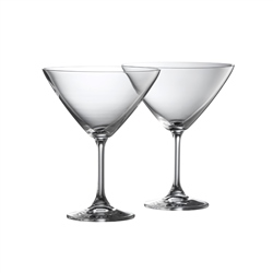 Galway Living CLARITY MARTINI PAIR