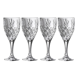 Galway Crystal Renmore Goblet Set