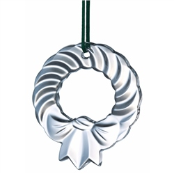 Galway Crystal Wreath - Hanging Ornament