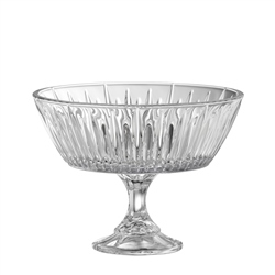 "Galway Crystal Willow 8.5"" Footed Bowl"