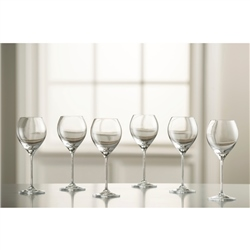 Galway Living Clarity White Wine Set of 6