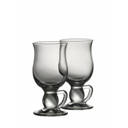 Galway Crystal Latte Mugs Pair