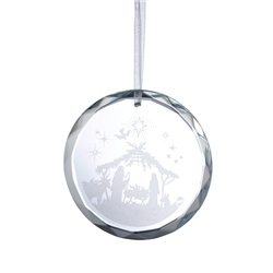 Galway Living Nativity Scene Hanging Ornament