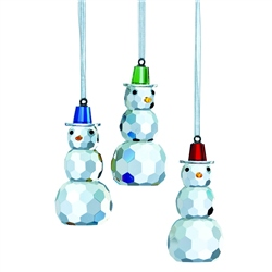 Galway Living Magical Snowman - Hanging Ornament Set