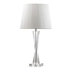 Galway Living Twist Large Lamp and Shade