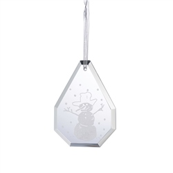 Galway Living Droplet Snowman - Hanging Ornament