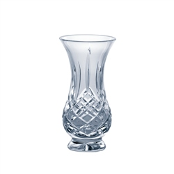 "Galway Crystal LONGFORD 5"" FOOTED BULB VASE"
