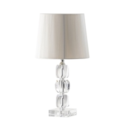Galway Living Facet Small Lamp and Shade