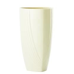 "Belleek Living Chic 12"" Triangular Vase"