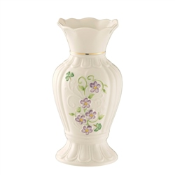 "Belleek Classic Irish Flax 7"" Vase"