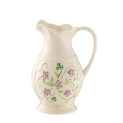 Belleek Classic Irish Flax Pitcher