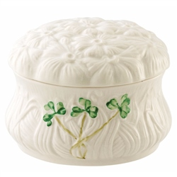 Belleek Classic Daisy Trinket Box