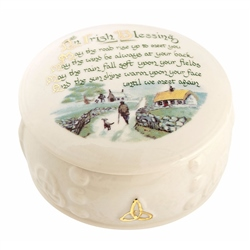 Belleek Classic Irish Blessing Gift Box