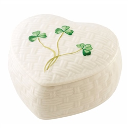 Belleek Classic Kylemore Trinket Box