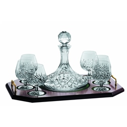 Galway Crystal Longford Brandy Decanter