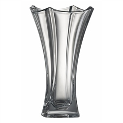 "Galway Crystal DUNE 14"" WAISTED VASE"