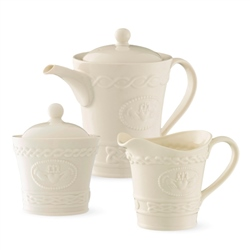 Belleek Classic Claddagh Tea Set *Belleek.com - Exclusive*
