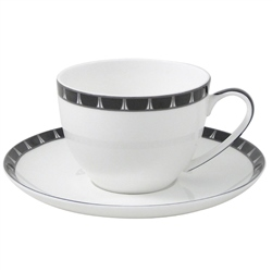 Aynsley Mozart Teacup And Saucer Set