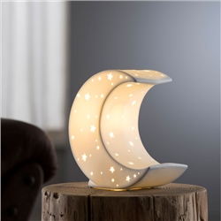 Belleek Living Crescent Moon Luminaire