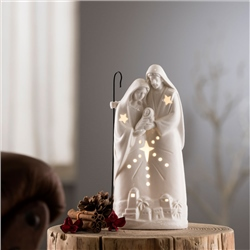Belleek Living Nativity Group LED Light