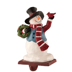 Aynsley Top Hat Snowman Stocking Holder