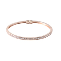 Designer Jewellery Rose Diamond Ring Bangle